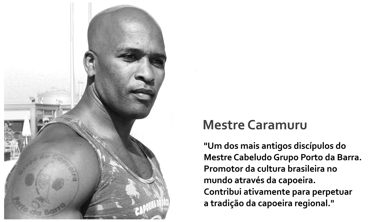 Mestre Caramuru (Foto Nélia Azevedo)