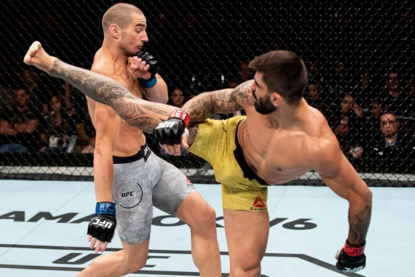 Elizeu Capoeira comemora nocaute impressionante no UFC Capoeira Portal Capoeira